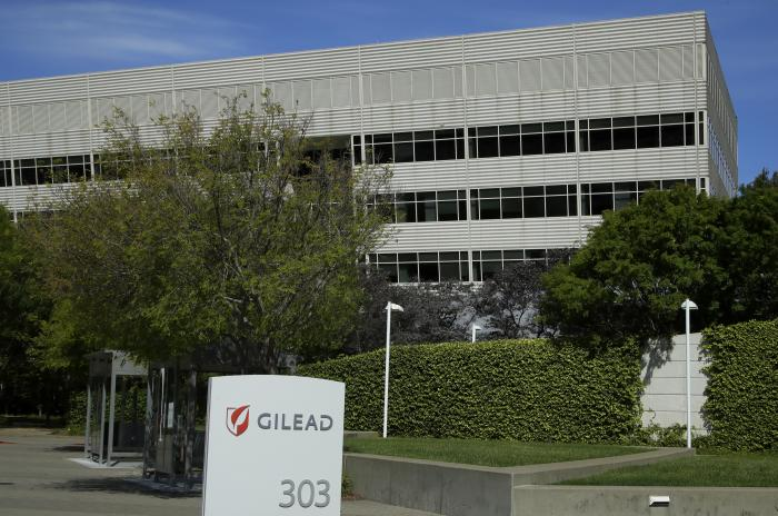 Gilead Sciences headquarters in Foster City, Calif.