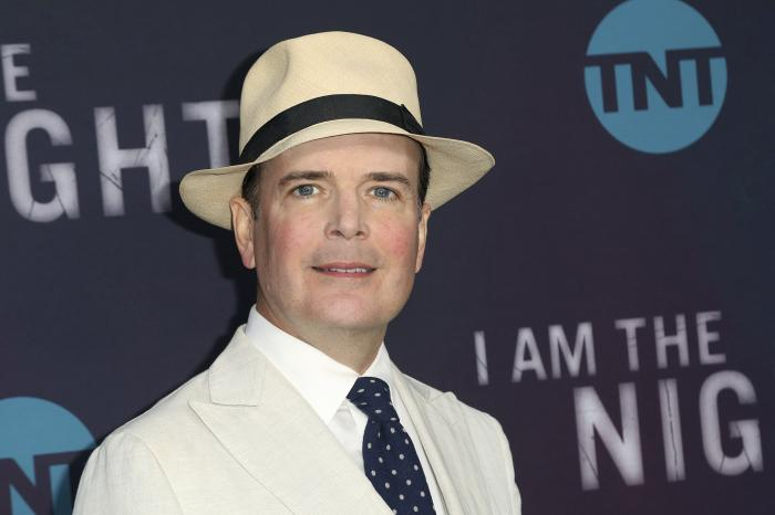"Jefferson Mays arrives at the ""I Am the Night"" FYC event in Los Angeles on May 9, 2019."