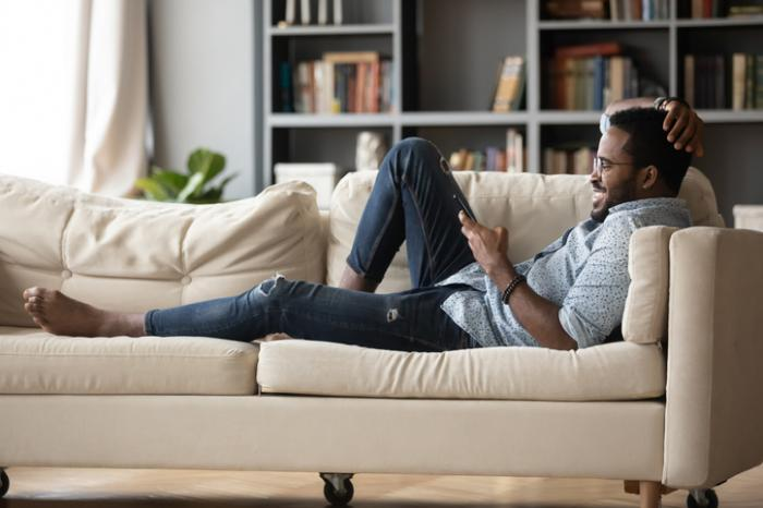 Americans Have Spent This Much Time on Their Sofa Since March