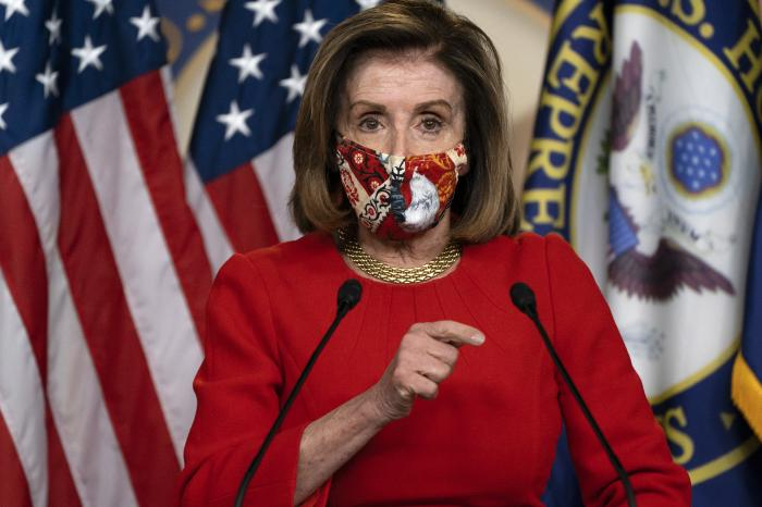 Pelosi Optimistic, Says Momentum Growing for COVID-19 Relief